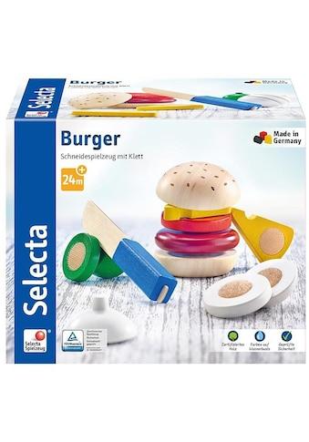 Selecta Spiellebensmittel »Burger, 12 Teile«, Made in Germany kaufen
