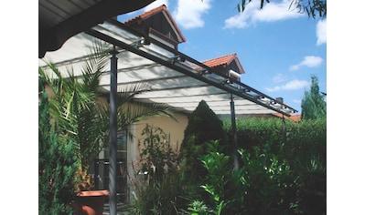Floracord Sonnensegel, BxT: 330x140 cm, silbergrau kaufen