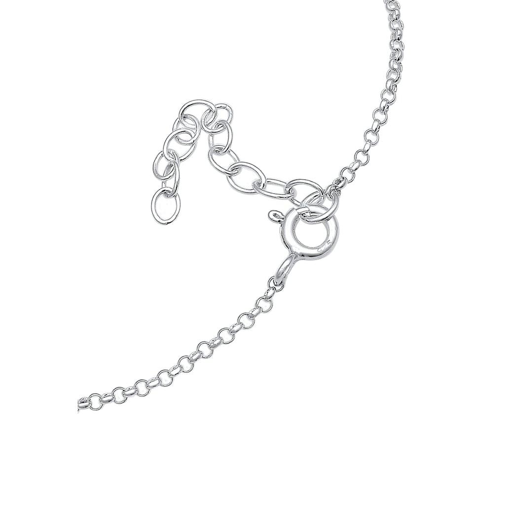 Elli Armband »Erbskette Rentier Kristalle 925 Silber«