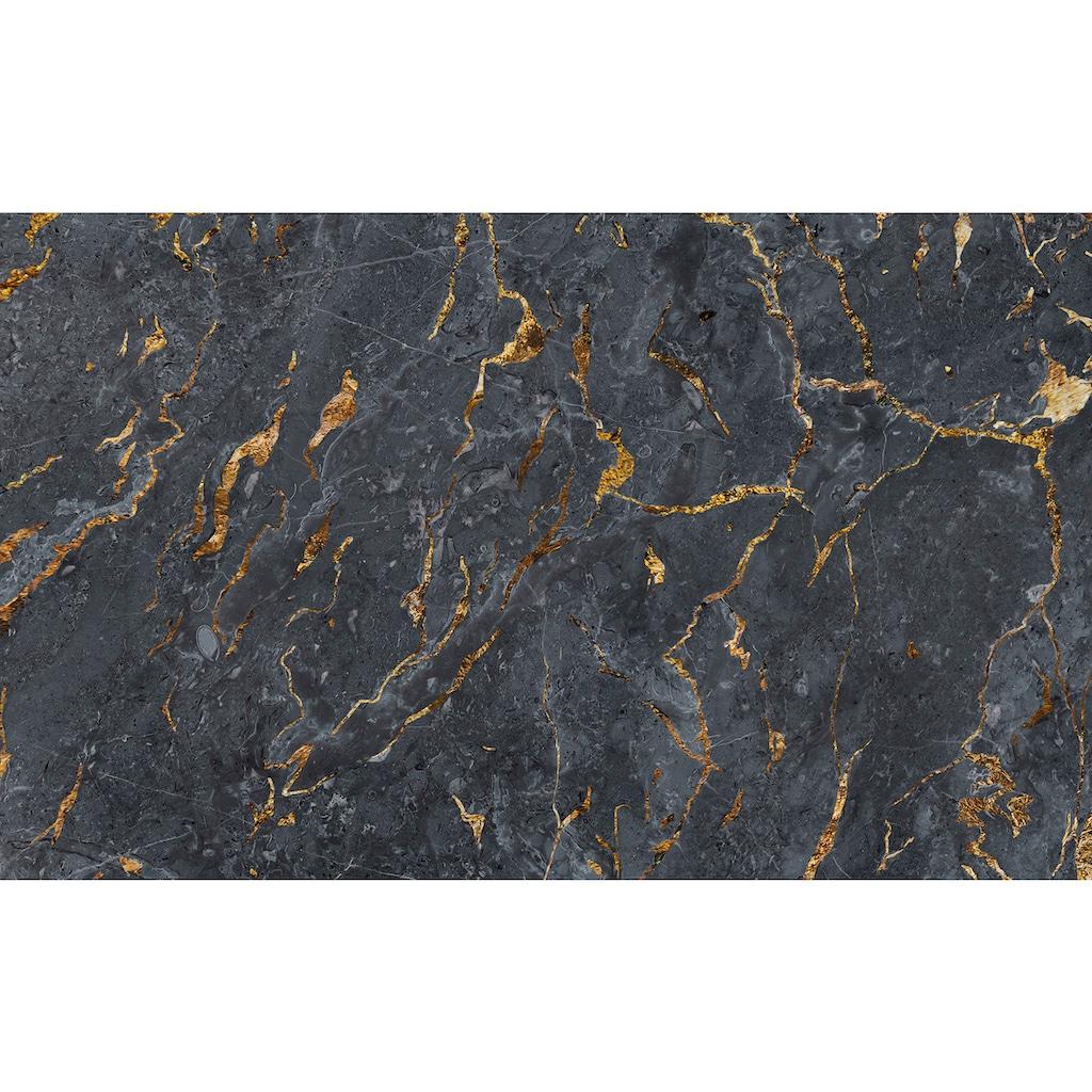 Consalnet Papiertapete »Stein mit Lava Optik«, Steinoptik