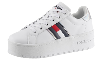 TOMMY JEANS Plateausneaker »IRIDESCENT ICONIC SNEAKER« kaufen