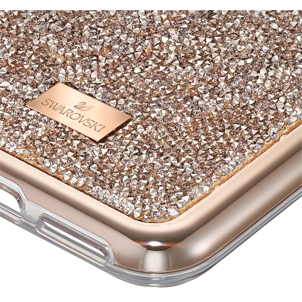 Swarovski Smartphone-Hülle »Glam Rock Smartphone Schutzhülle mit integriertem Stoßschutz, iPhone® 11 Pro Max, roségoldfarben, 5536651«, iPhone 11 Pro Max, mit Swarovski® Kristallen