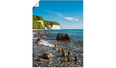 Artland Wandbild »Ostseeküste auf der Insel Rügen«, Küste, (1 St.), in vielen Größen &... kaufen