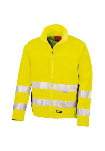 Result Funktionsjacke »Core Herren Hi Vis Winter Softshell Jacke, Wasser und Wind... kaufen