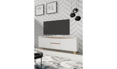 byLIVING TV-Board »Valentin«, Breite 160 cm, in matt weiß kaufen