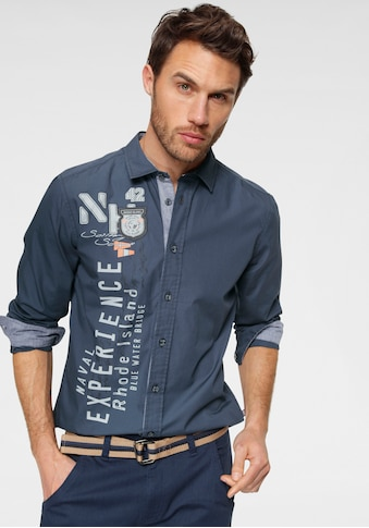 Rhode Island Langarmhemd kaufen