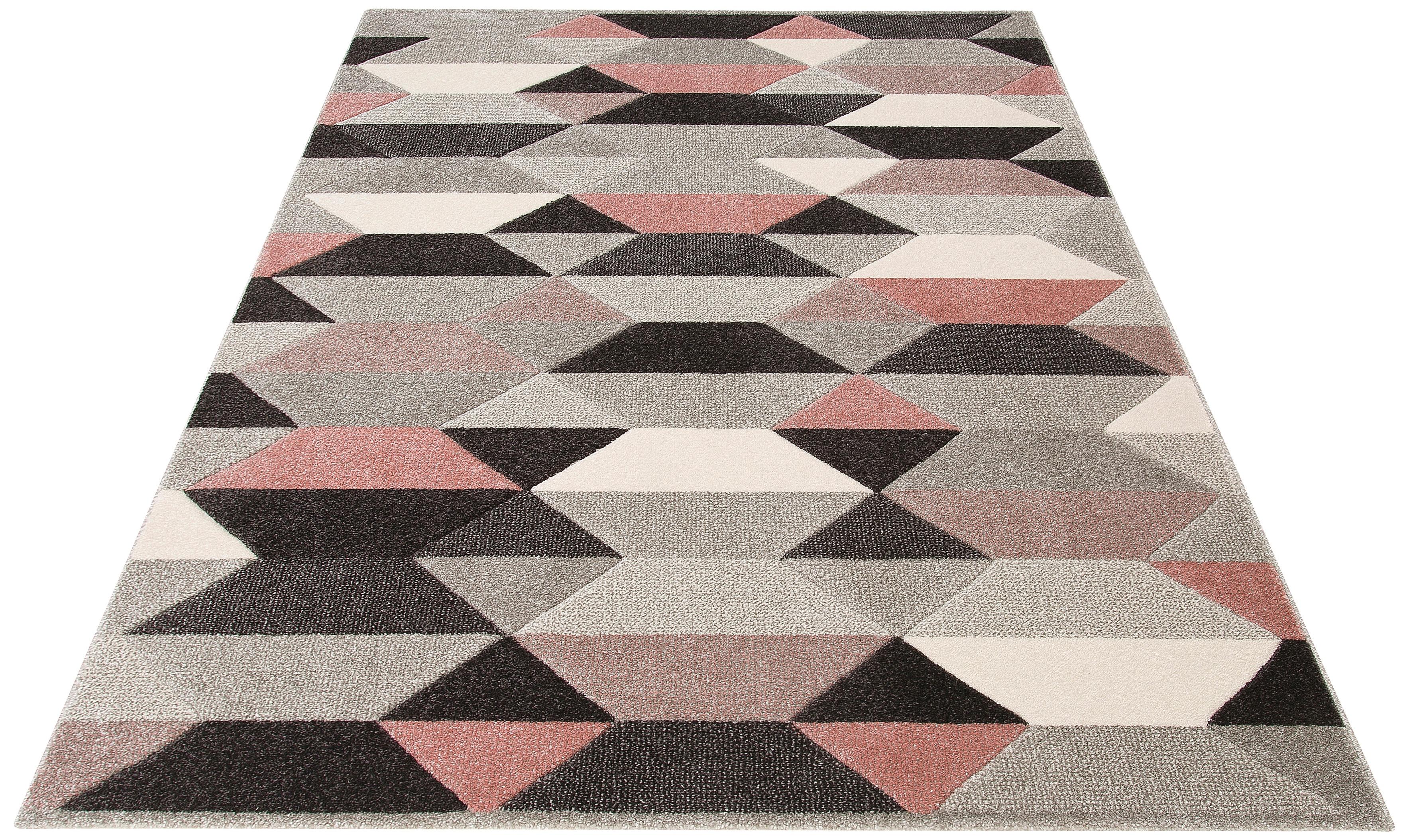 Teppich Ravi my home rechteckig Höhe 13 mm maschinell gewebt