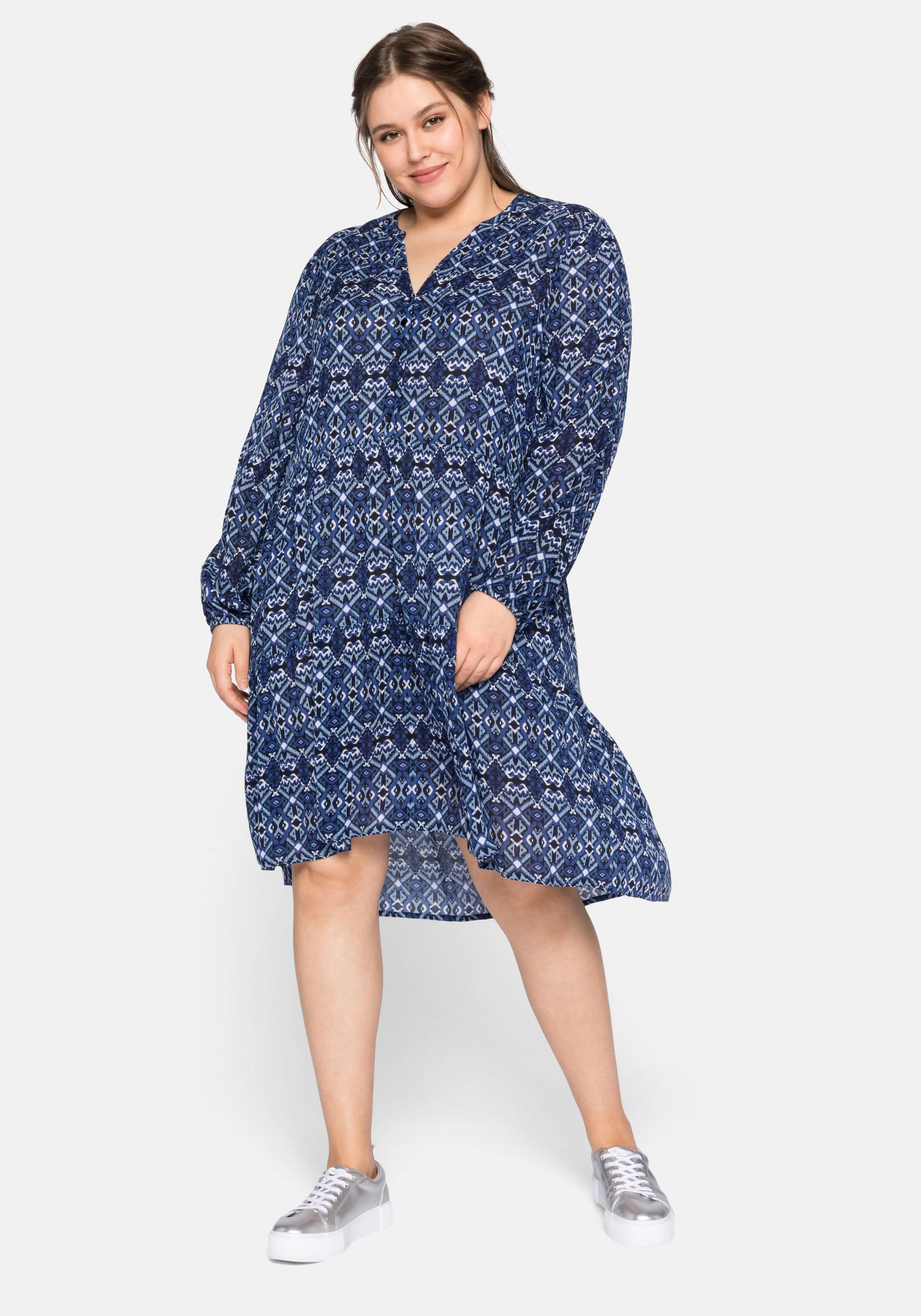 sheego -  Blusenkleid