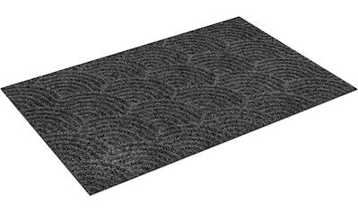 wash+dry by Kleen-Tex Teppich »Waves«, rechteckig, 8 mm Höhe, In- und Outdoor geeignet, waschbar, Wohnzimmer kaufen
