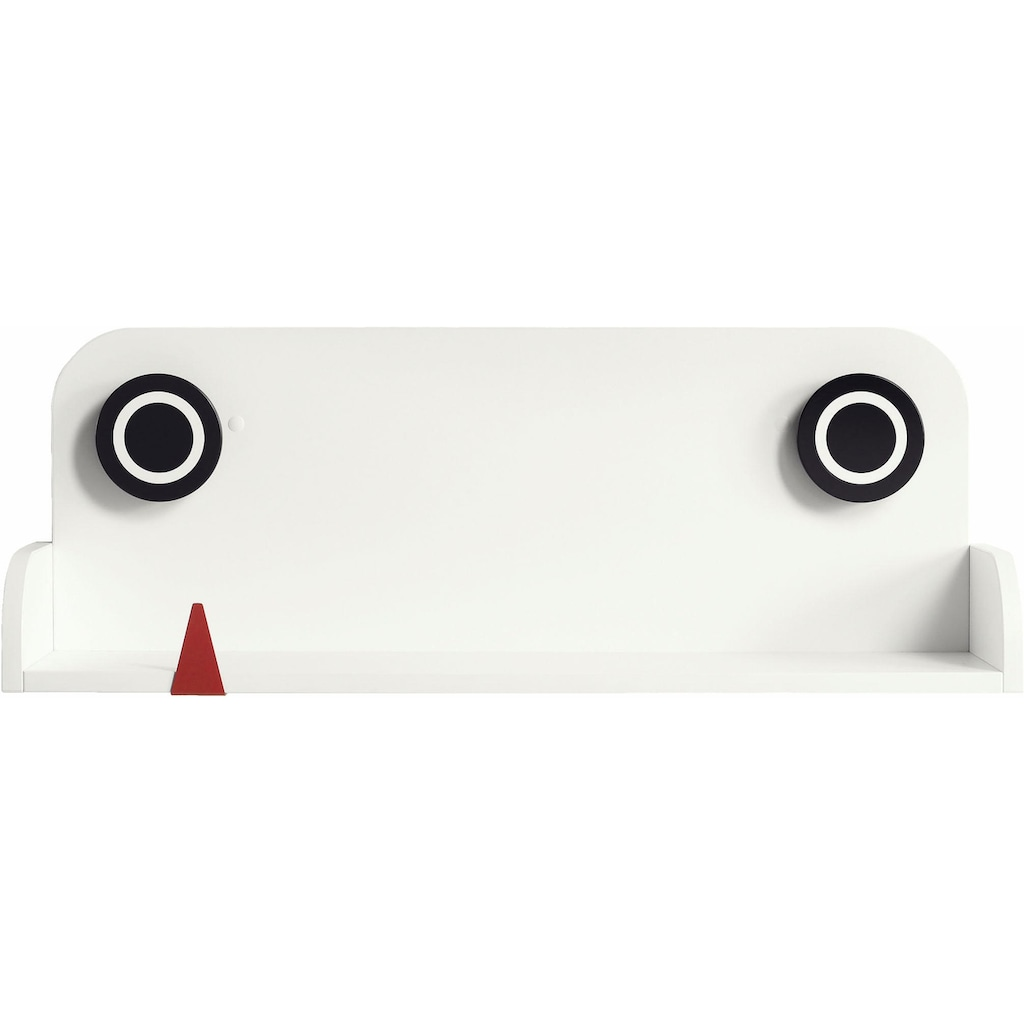 now! by hülsta Wandboard »now! minimo«, mit rotem Zähnchen