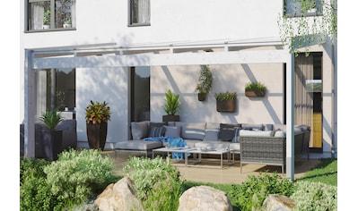 SKANHOLZ Terrassendach »Novara«, BxT: 557x309 cm, versch. Farben kaufen