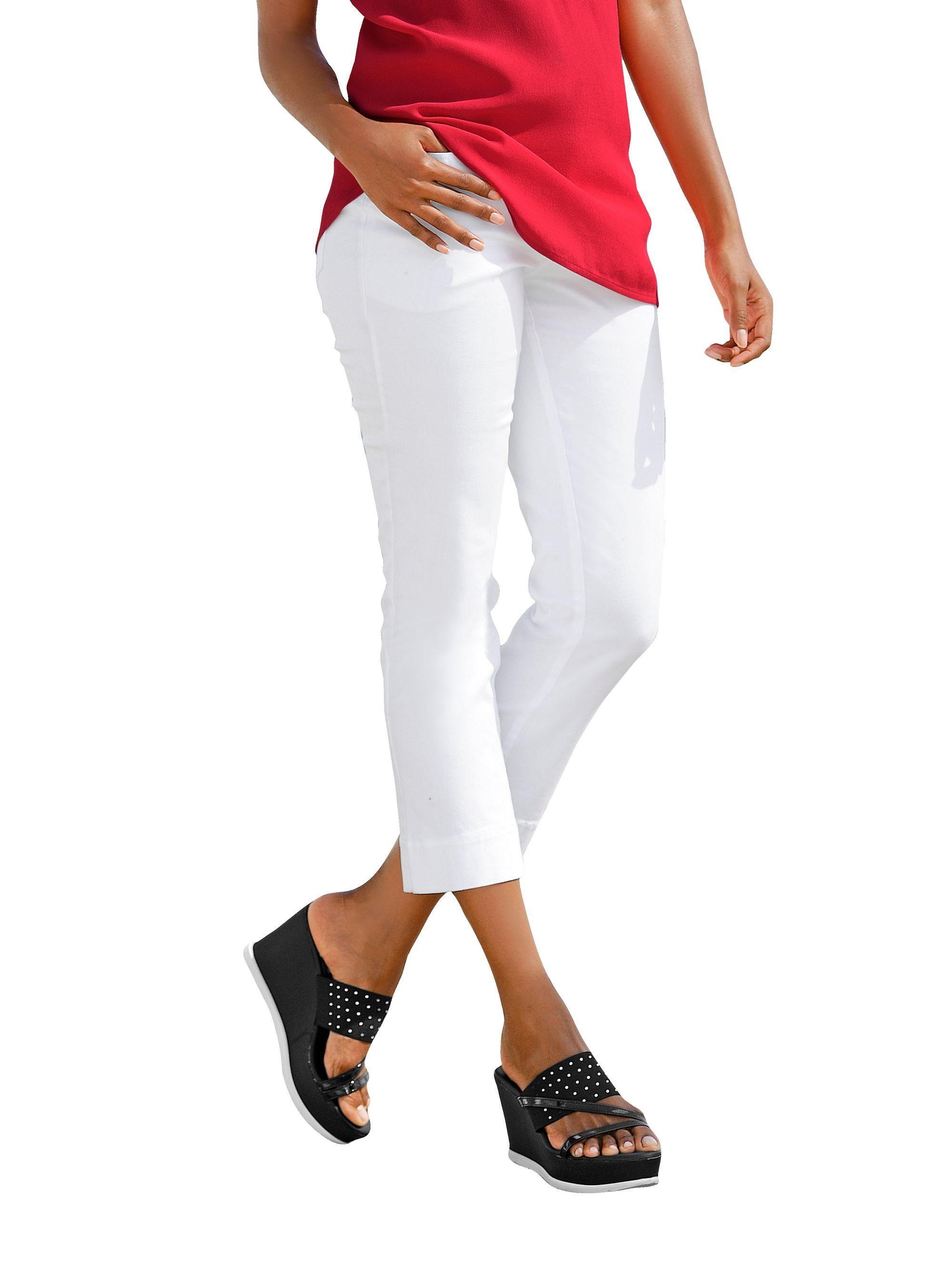 Alba Moda 7/8-Jeans mit Krempelsaum | Bekleidung > Jeans > 7/8-Jeans | Alba Moda
