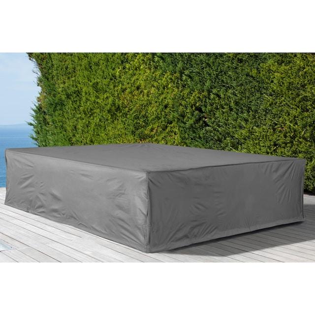 KONIFERA Schutzhülle »Keros Premium«, für ein Loungeset, (L/B/H): ca. 223x223x75 cm