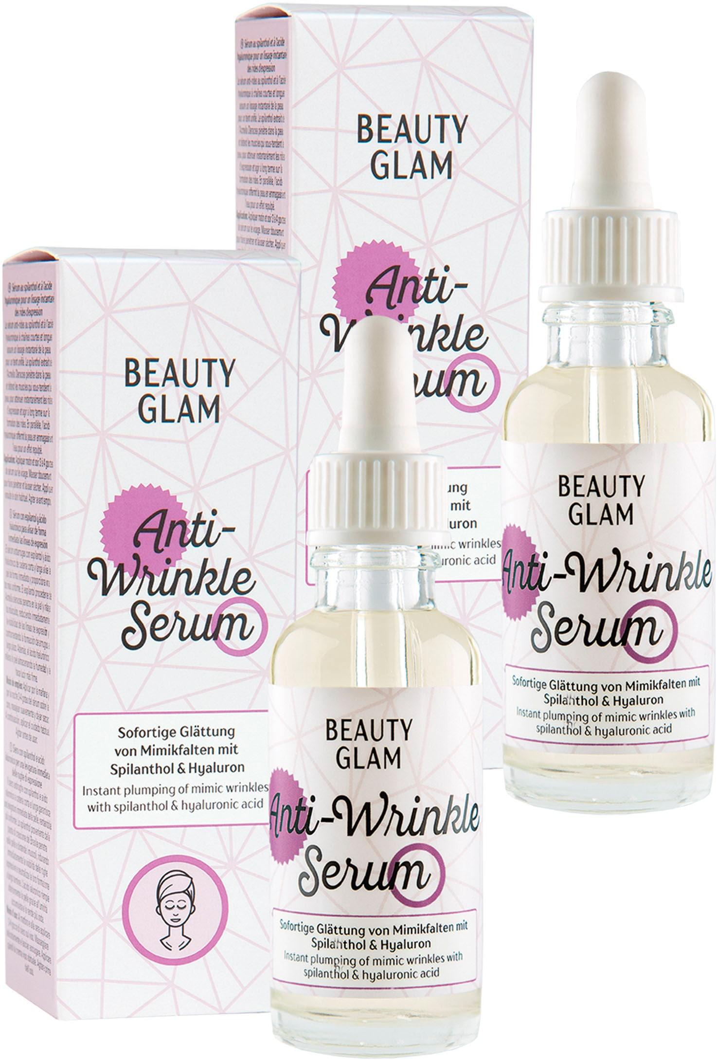 beauty glam -  Gesichtspflege-Set Anti-Wrinkle Serum, (2 tlg.)