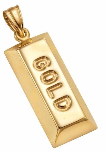 Firetti Kettenanhänger »Goldbarren« kaufen