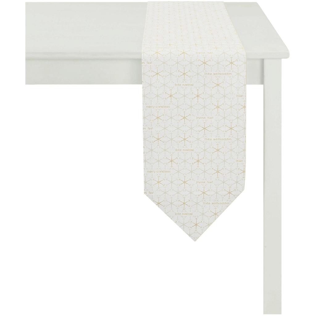 APELT Tischband »3008 Christmas Elegance«