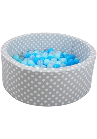 """Knorrtoys® Bällebad """"Soft, Grey white dots"""" kaufen"""