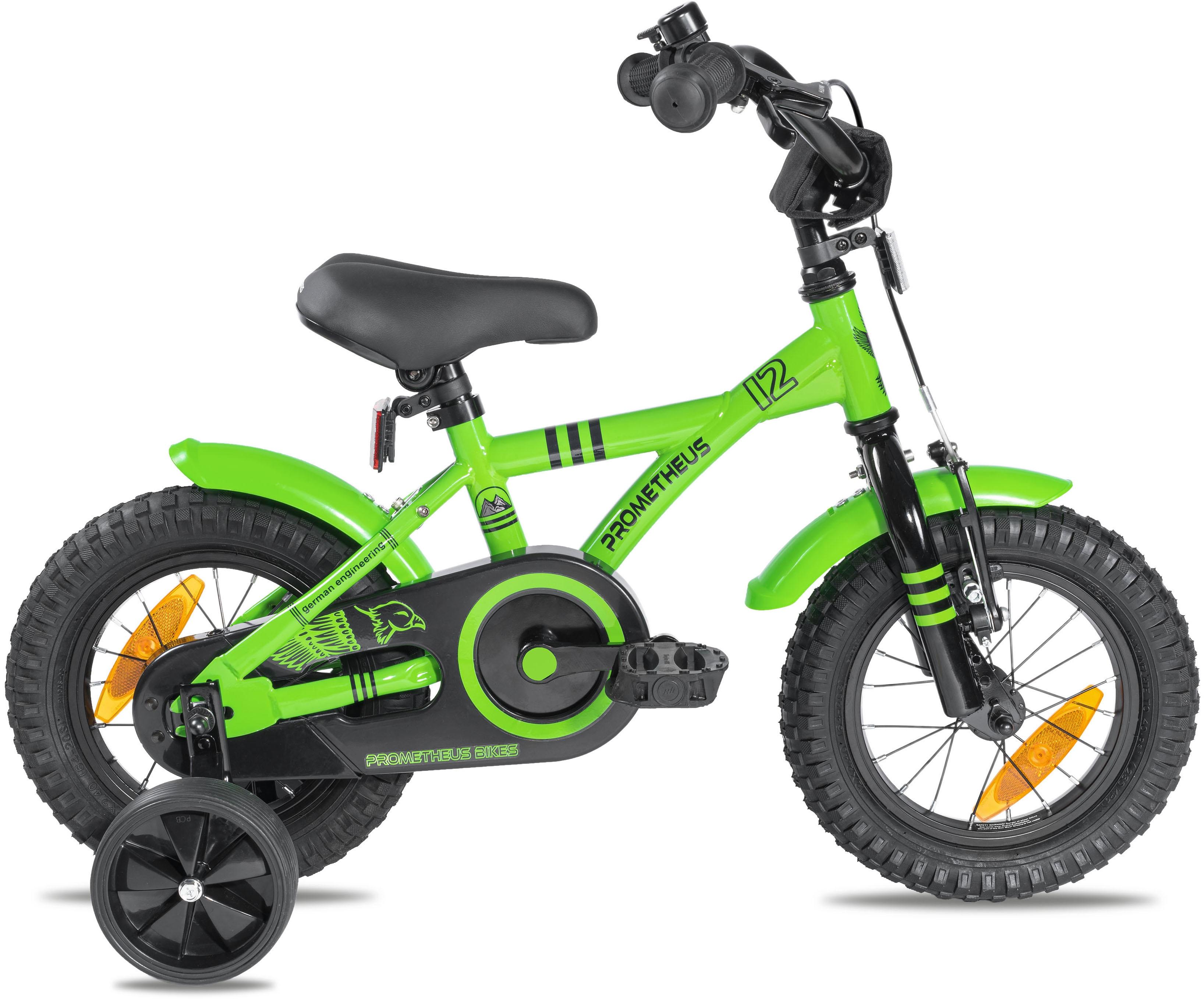 PROMETHEUS BICYCLES Kinderfahrrad Hawk, 1 Gang grün Kinder Kinderfahrräder Fahrräder Zubehör