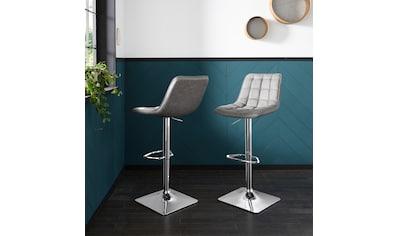 Duo Collection Barhocker »Barhocker Laketon«, 2er-Set, 360°drehbar, stufenlos... kaufen