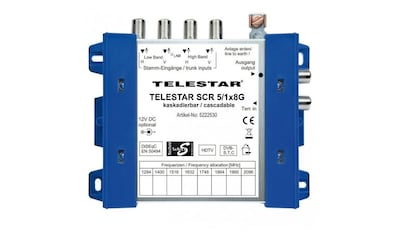 TELESTAR SAT-Verteiler »SCR 5/1x8 G«, Unicable kaufen