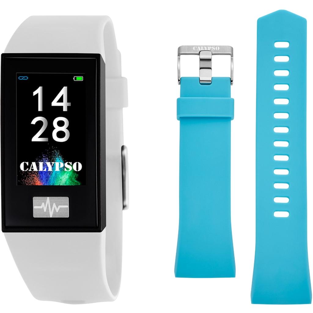 CALYPSO WATCHES Smartwatch »Smartime, K8500/1«, ( Mit Wechselarmband)