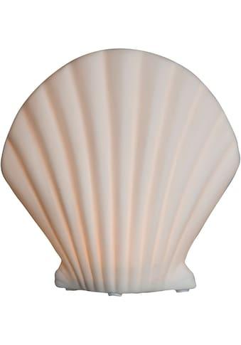 VALENTINO Wohnideen LED Dekoobjekt »Muschel Callista«, 1 St., Warmweiß, aus Pozellan,... kaufen
