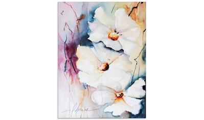 Artland Glasbild »Aquasblüten I«, Blumen, (1 St.) kaufen