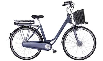 LLobe E-Bike »Black Motion 2.0, 13,2Ah«, (mit Fahrradkorb) kaufen