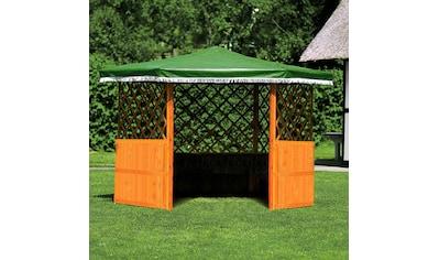 PROMADINO Holzpavillon »Marburg«, BxT: 309x309 cm kaufen