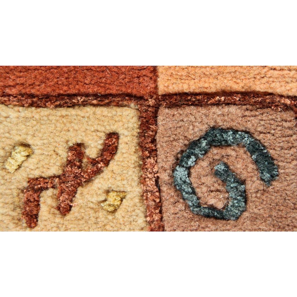 Wollteppich, »India«, LUXOR living, rechteckig, Höhe 20 mm, manuell geknüpft