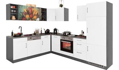 HELD MÖBEL Winkelküche »Paris«, ohne E-Geräte, Stellbreite 220/280 cm kaufen