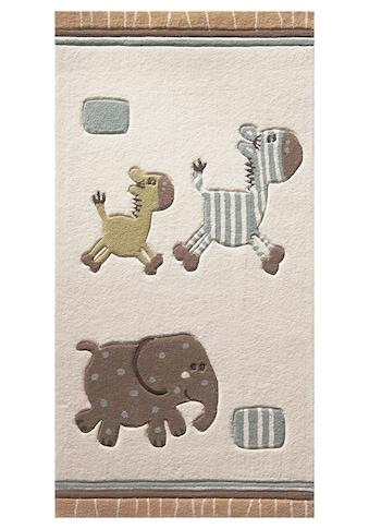Esprit Kinderteppich »Kids Collection2«, rechteckig, 10 mm Höhe, Tiermotive, Kurzflor kaufen