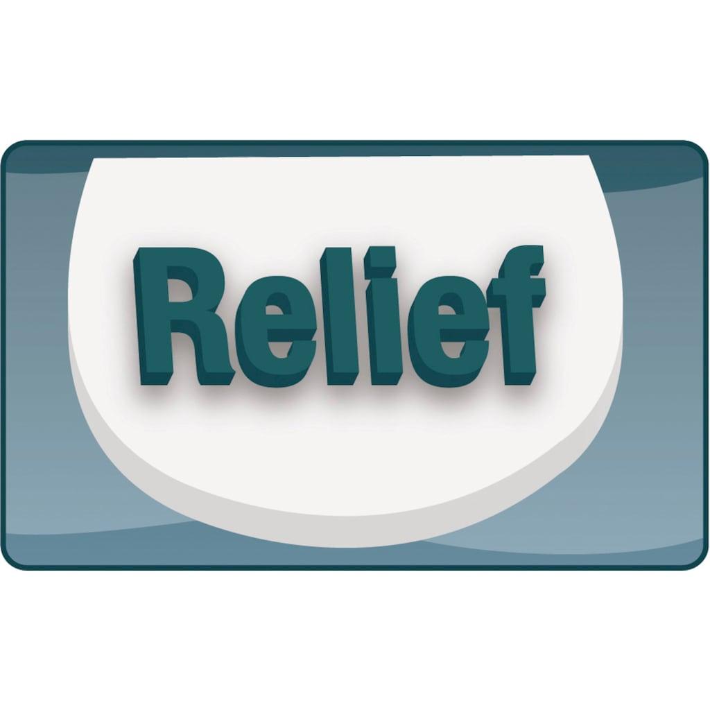 CORNAT WC-Sitz »Sand Herz«, Relief-Motiv