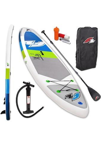 F2 Inflatable SUP-Board »F2 Line Up SMO blue mit Carbonpaddel«, (Set, 5 tlg.) kaufen