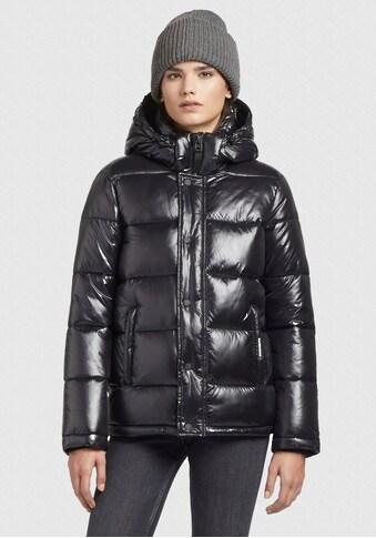 khujo Steppjacke »Gerda Shiny«, stylische Puffer Jacke mit Kapuze kaufen