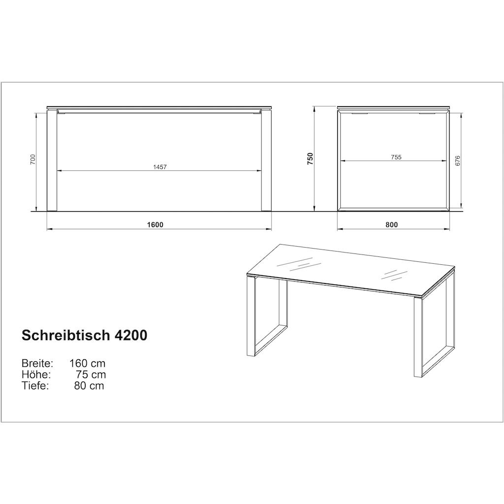 GERMANIA Büro-Set »GW-Monteria«, (Set, 5 St.)