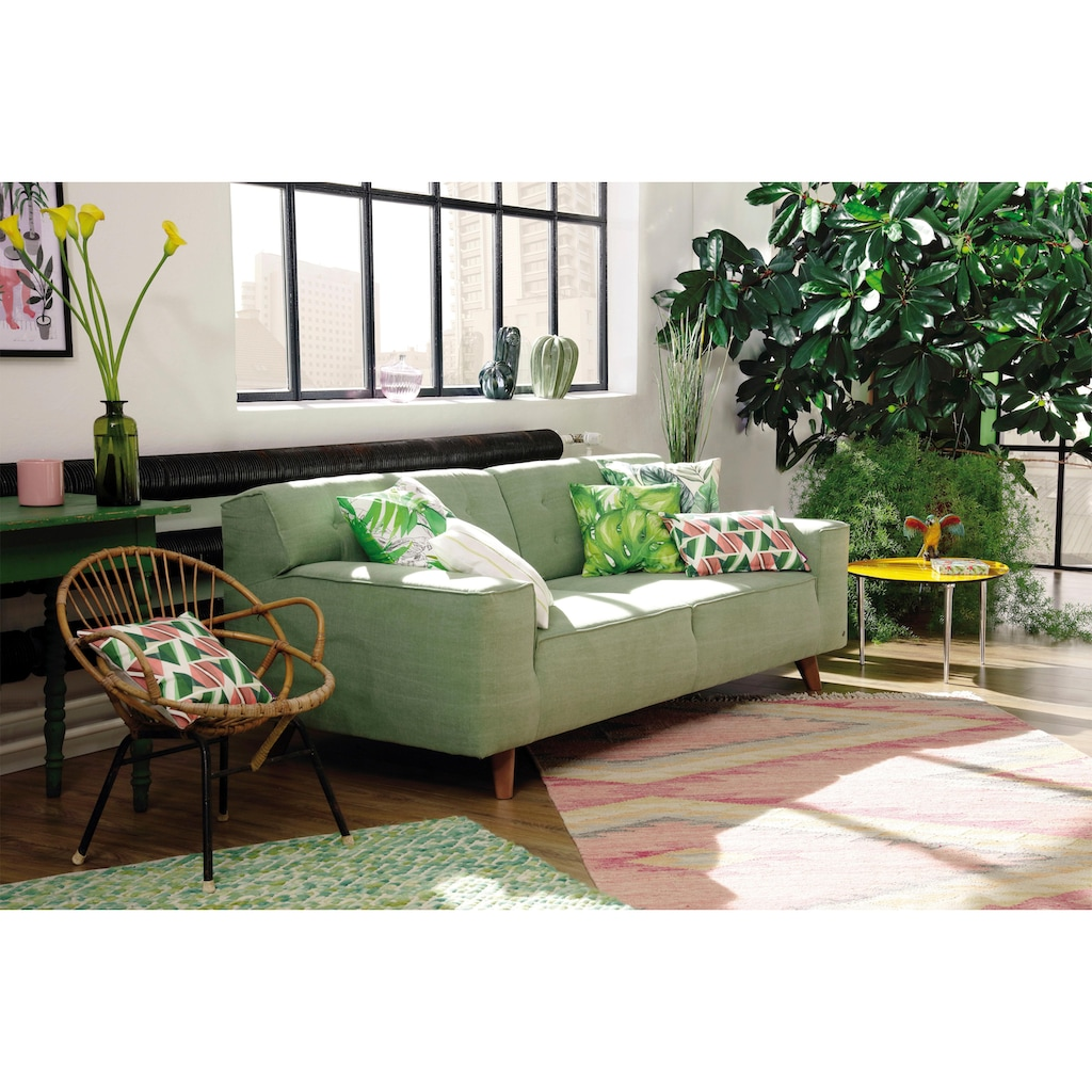 TOM TAILOR Kissenhüllen »GREEN JUNGLE«