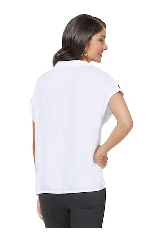 Classic Inspirationen Bluse mit dekorativen Knöpfen kaufen