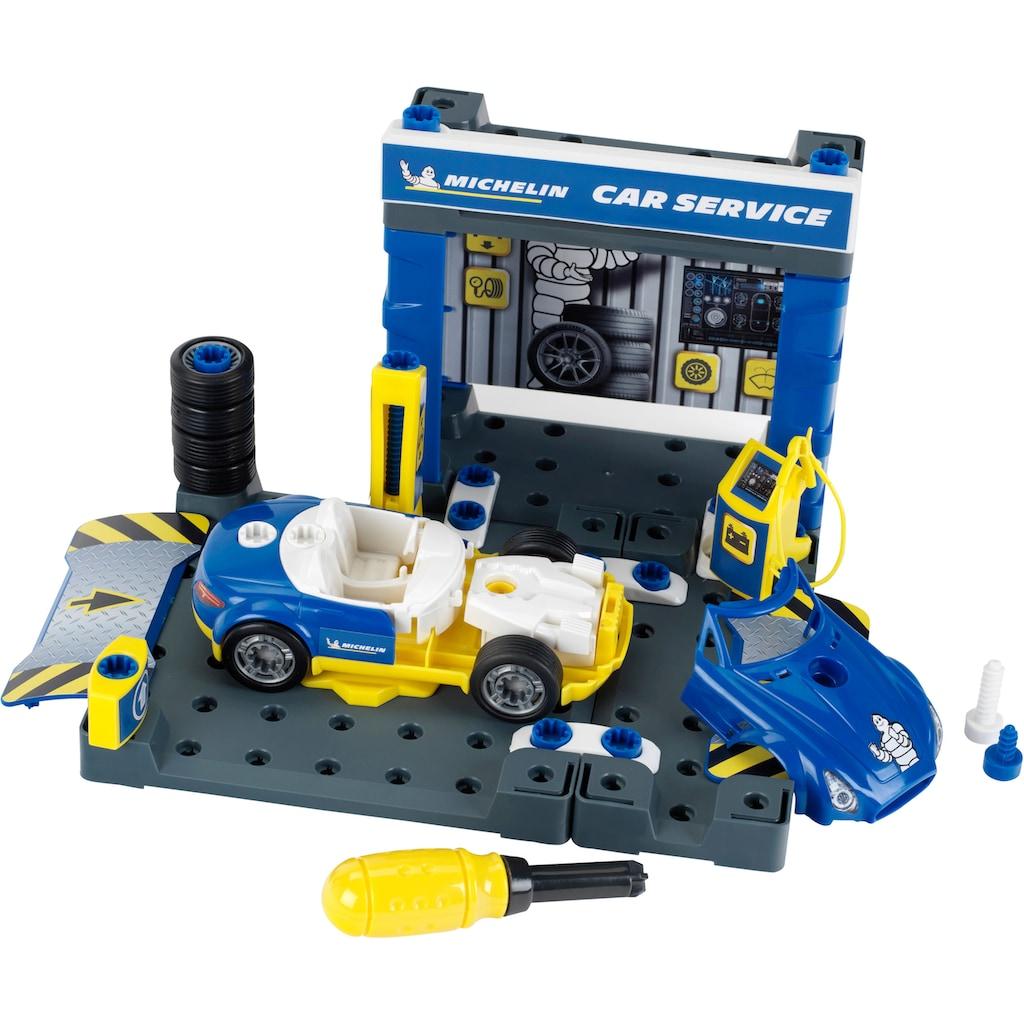 Klein Spiel-Gebäude »Michelin Service Station«, inklusive Spielzeugauto