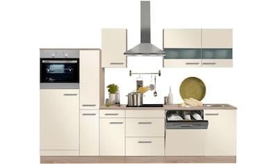 OPTIFIT Küchenzeile »Kalmar«, mit E - Geräten, Breite 300 cm kaufen
