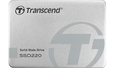 "Transcend interne SSD »SSD220S 480GB«, 2,5 "" kaufen"