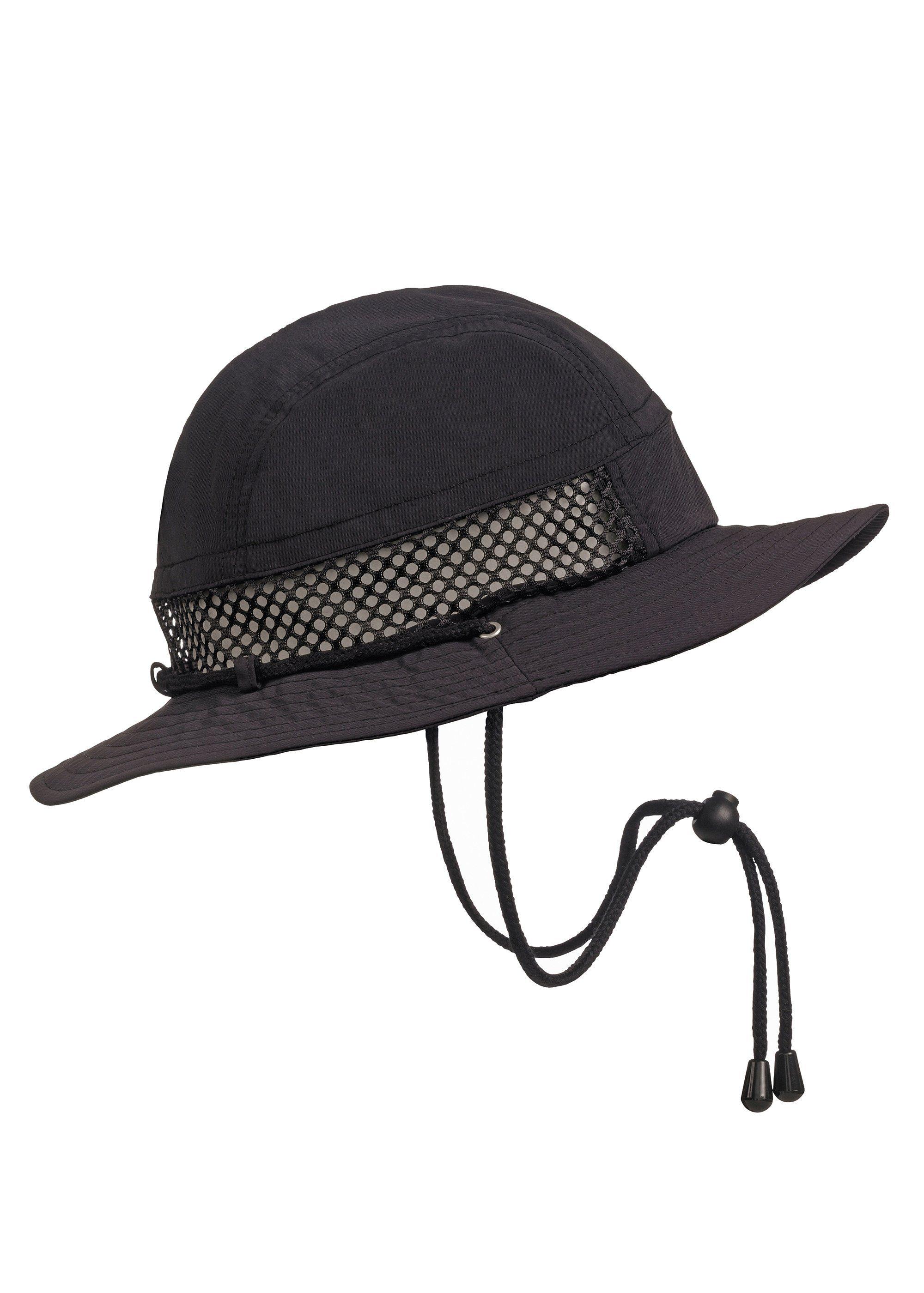 STÖHR Hut mit Mesh - schützt gegen Sonne und Regen | Accessoires > Hüte | Schwarz | Stoehr