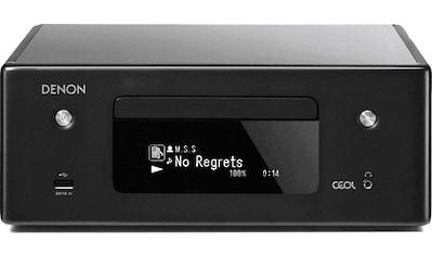Denon Kompaktanlage »RCD-N10«, (Bluetooth-WLAN-CD Internetradio ) kaufen