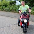 Rolektro Elektromobil »Rolektro E-Carrier 25«, 1000 W, 25 km/h, (Korb)