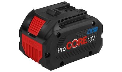 Bosch Professional Akkupacks »ProCORE 18 V 5.5 Ah Professional«, für bis zu 1800 Watt... kaufen