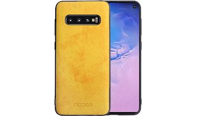 """PEDEA Handytasche »TPU+PC Case """"Stofflook"""" für Samsung Galaxy S10« kaufen"""