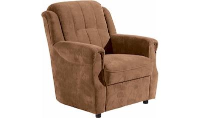 Sessel »Manhattan«, im Reliefsamt kaufen