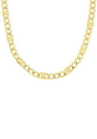 Firetti Goldkette »Fantasiepanzerkette, Glanz, 6-fach diamantiert« kaufen