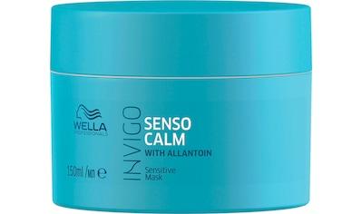 Wella Professionals Kopfhaut-Pflegekur »Invigo Balance Senso Calm Sensitive Mask«,... kaufen
