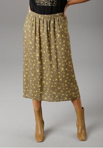 Aniston SELECTED Schlupfrock, mit Vögeln und Sternen bedruckt - NEUE KOLLEKTION kaufen